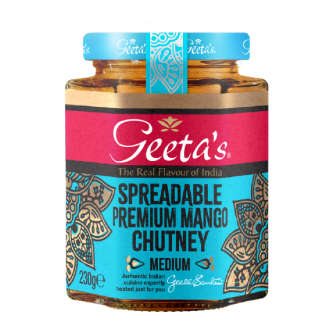 Spreadable Premium Mango Chutney 230g